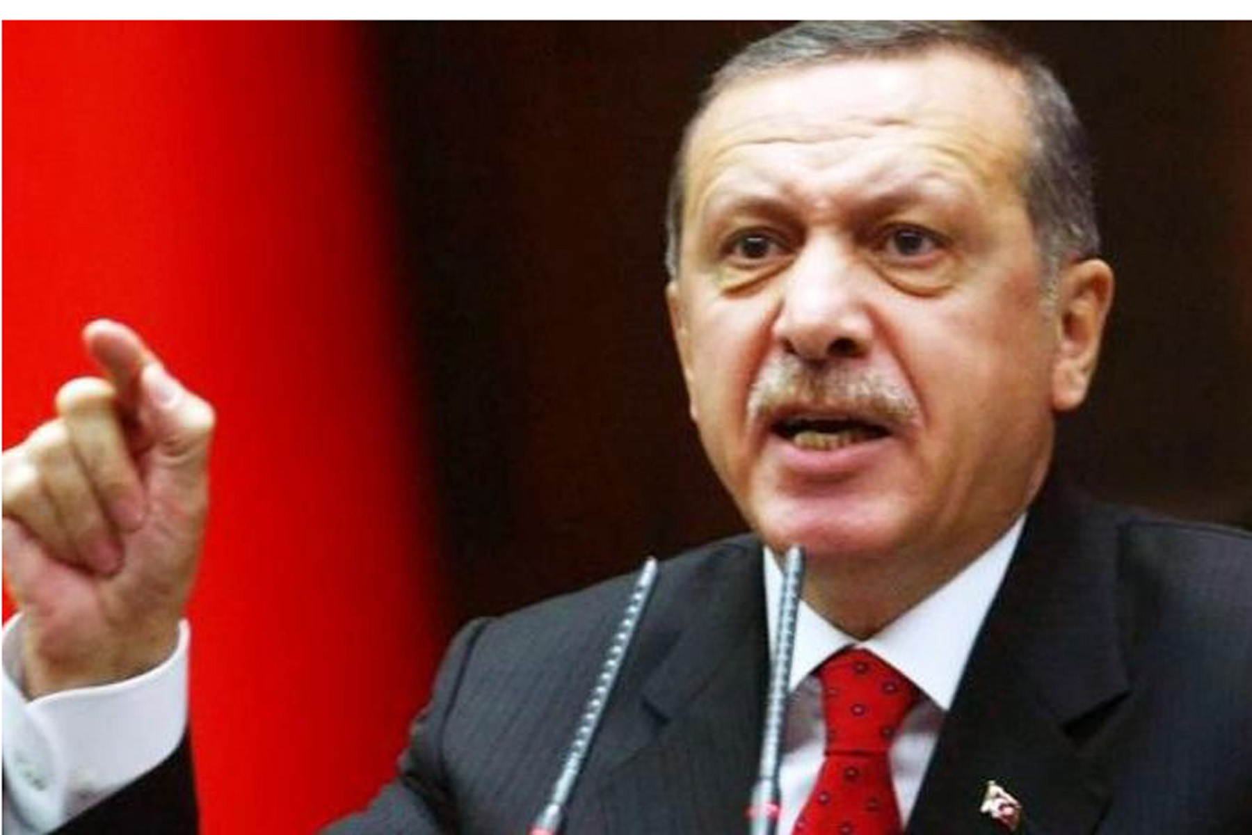 Erdogan attacca: