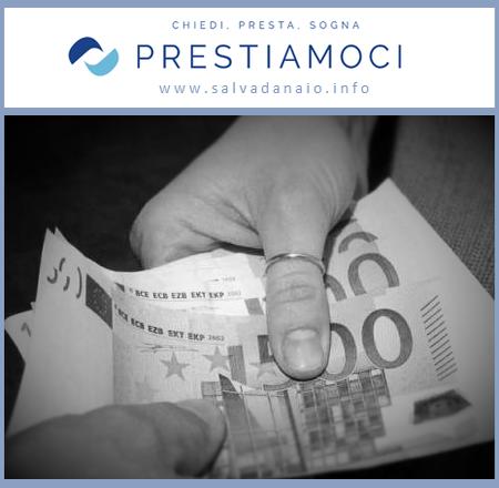 Prestiamoci: denaro da privato a privato