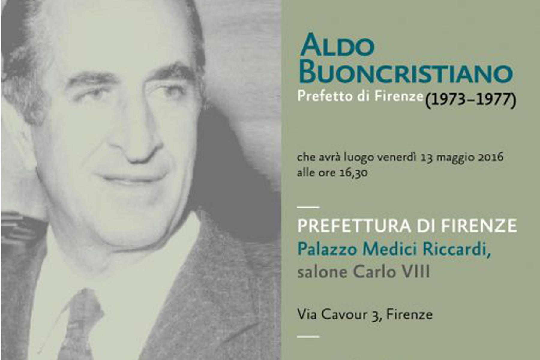 Aldo Buoncristiano: il prefetto di Firenze che accese le luci sull'alluvione