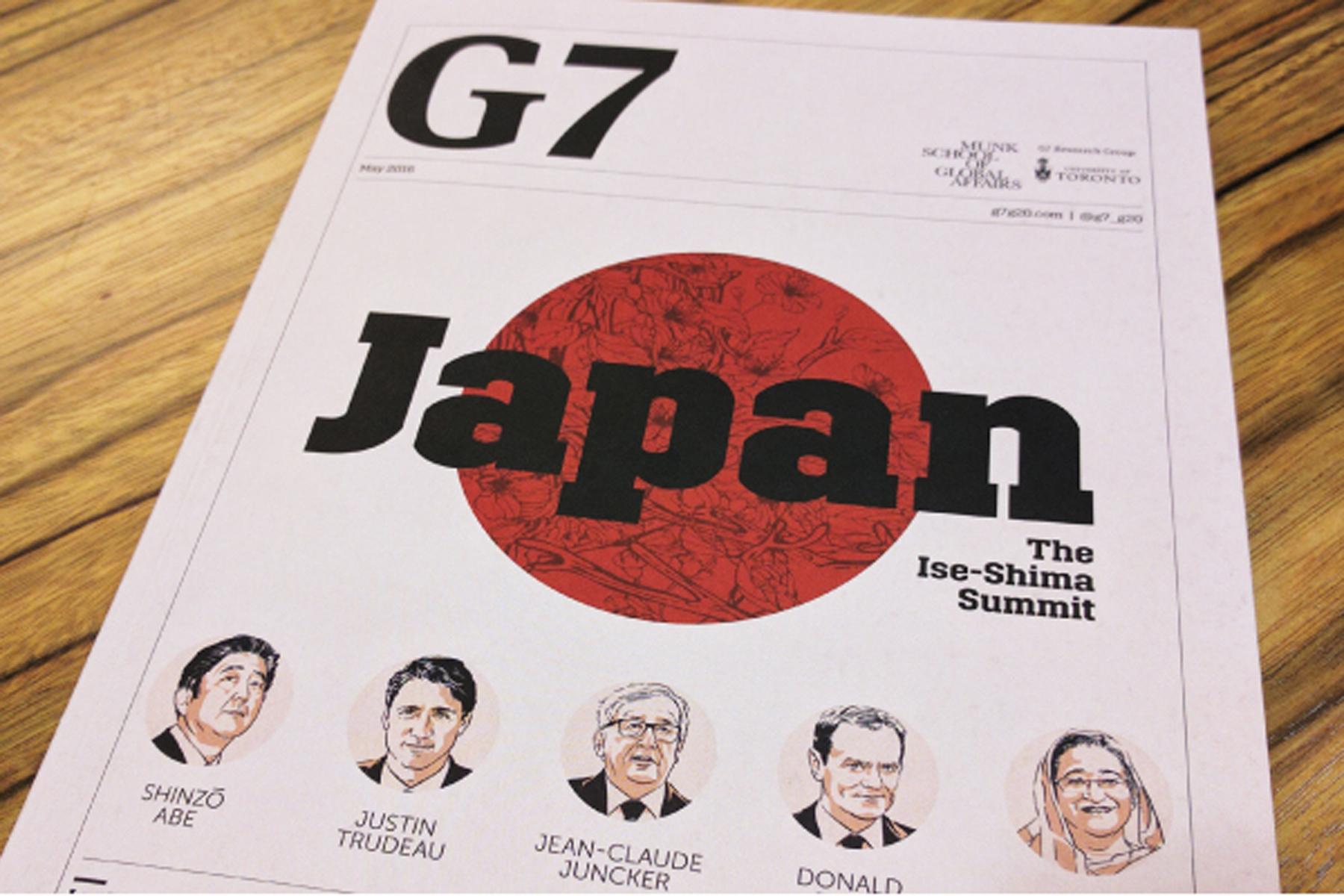 G7 al via, stasera l'incontro sui migranti