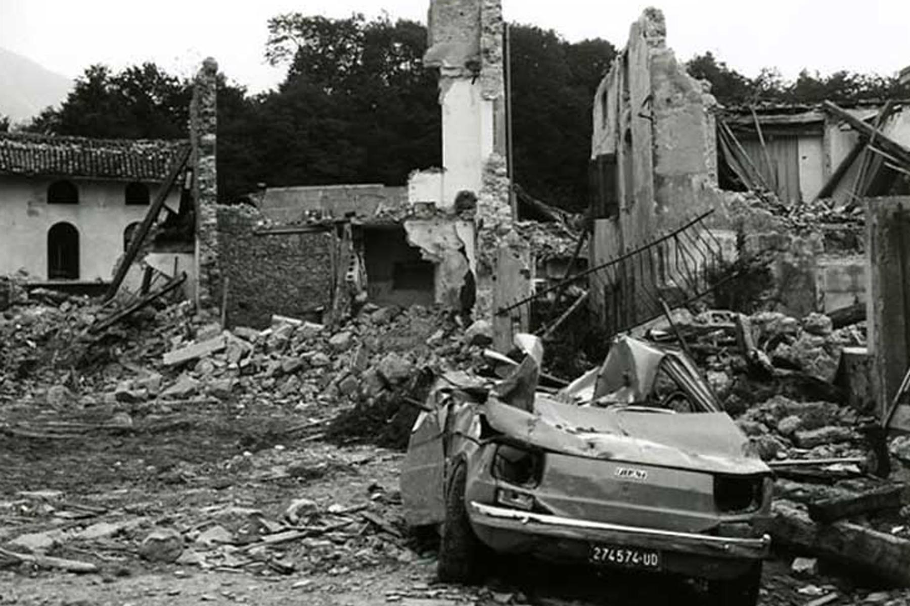Terremoto Friuli: 40 anni dall'Orcolat