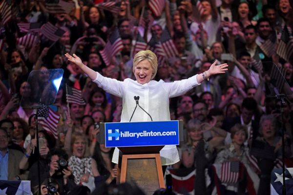 USA 2016, Hillary è la prima candidata donna