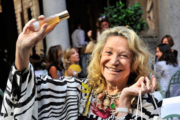 Addio a Marta Marzotto, una vita di stile