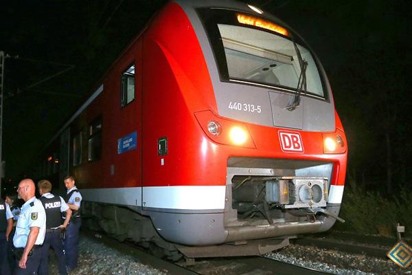 Baviera, attacco su un treno: Isis rivendica