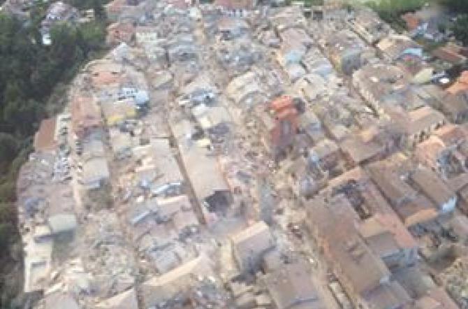 Sale numero vittime. I musei per il terremoto