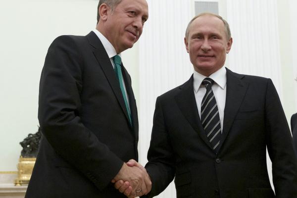 Putin-Erdogan, scatta l'ora dell'amicizia