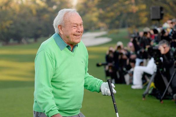 Golf: addio Arnold Palmer, il campione che lo rese celebre