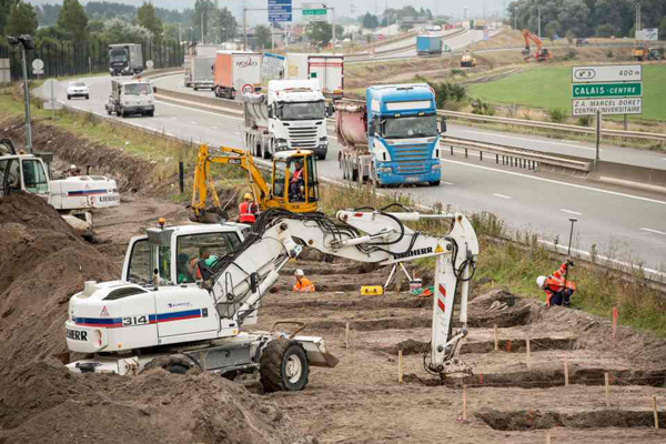 Calais, via ai lavori della