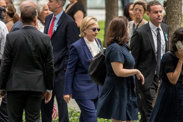 Presidenziali USA, malore per la Clinton a NY