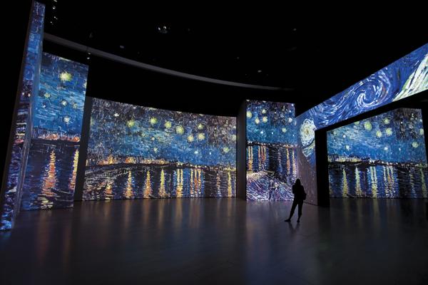 A Roma un Van Gogh Alive da sogno