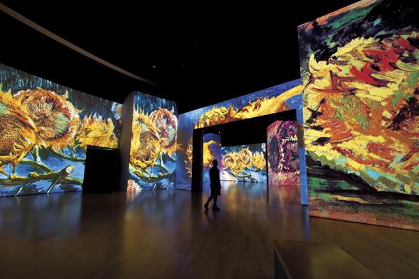 Arriva a Roma la mostra Van Gogh Alive