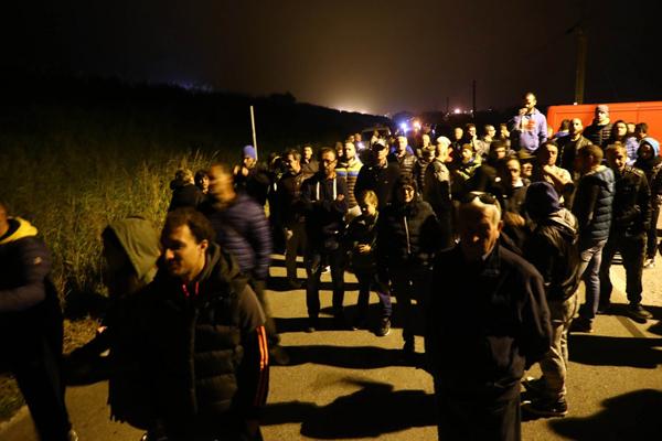 Barricate anti-migranti a Gorino, lo Stato cede