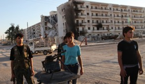 syrian-rebels-manning-a-checkpoint-in-east-aleppo