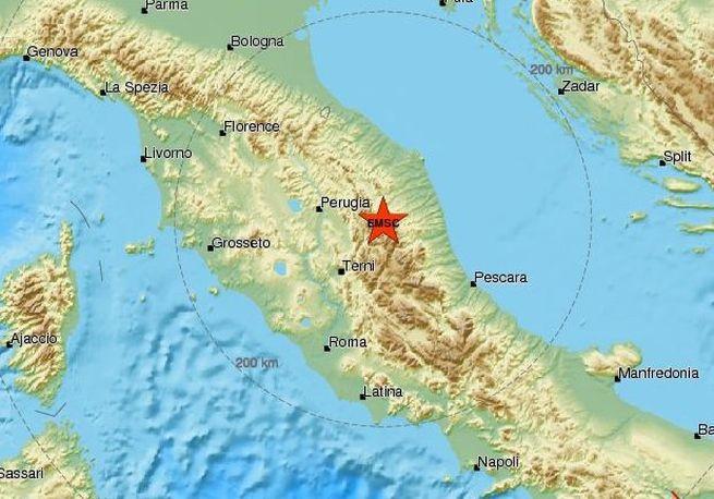 Terremoto Marche: terza scossa questa mattina