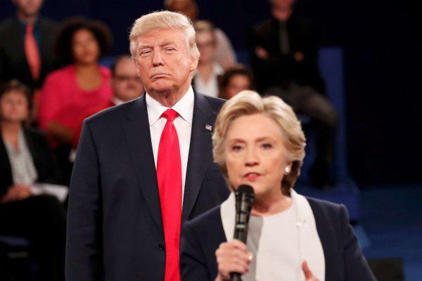 USA 2016, Clinton ancora avanti di misura