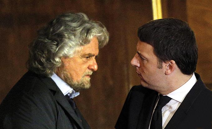 Referendum: scontro Renzi Grillo. Via web, ovviamente