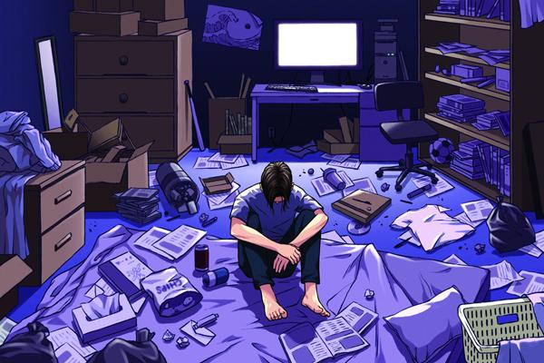 Hikikomori: gli autosequestrati del web