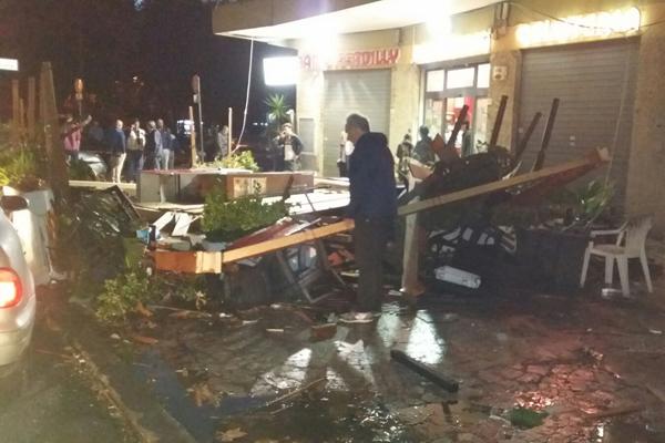 Tornado a Ladispoli: 2 morti, 22 feriti