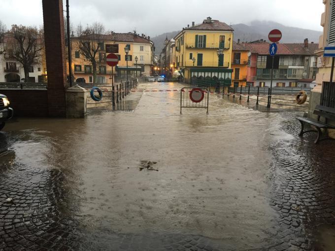 Maltempo in Piemonte: è allerta rossa