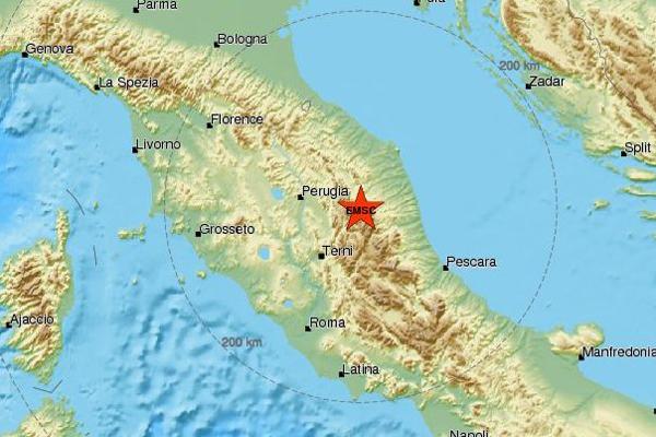 Terremoto: un'altra scossa 4.8