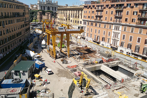 Roma: la capitale delle grandi opere incompiute
