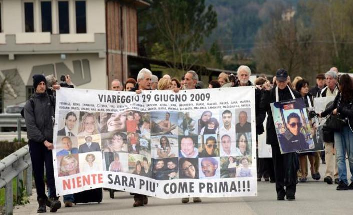 Strage di Viareggio, 7 anni a Moretti ed Elia