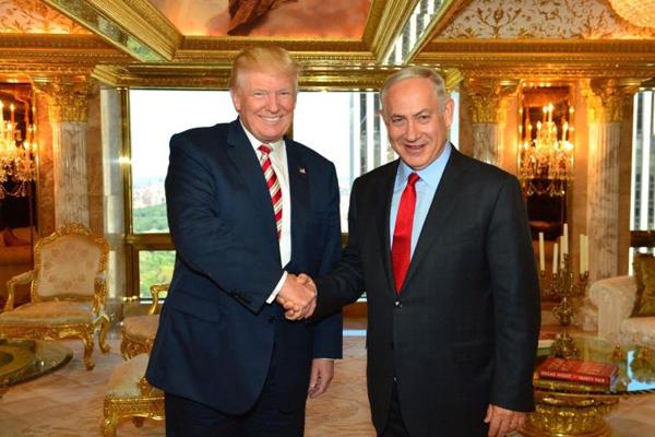 MO, Trump a Netanyahu: