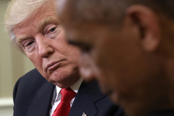 Russiagate, Trump dà la colpa a Obama