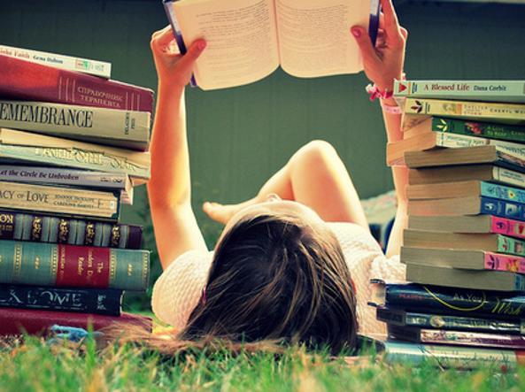 Un libro, e passa il dolore