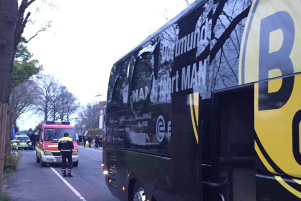 Dortmund, attentato alla Champions' League