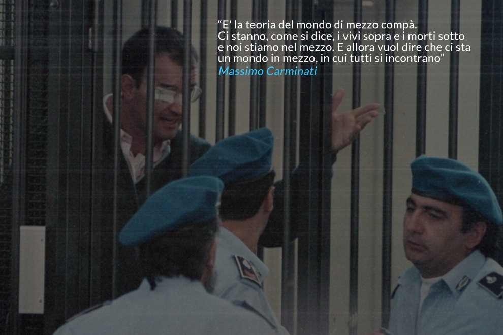 Mafia Capitale, chiesti 28 anni per Carminati