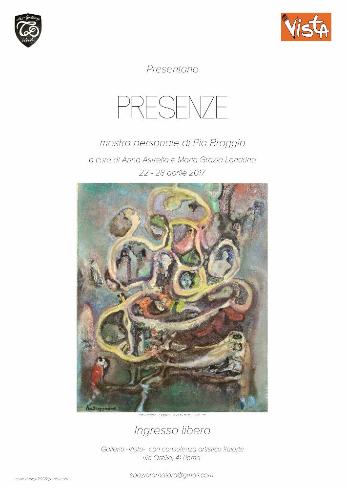 A Roma la prima 'personale' di Pia Broggio