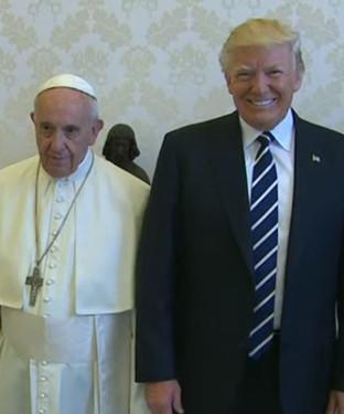 Papa_Francesco_Donald_Trump