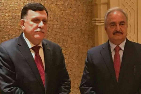 Libia, incontro Haftar-Sarraj. Media: c'è accordo