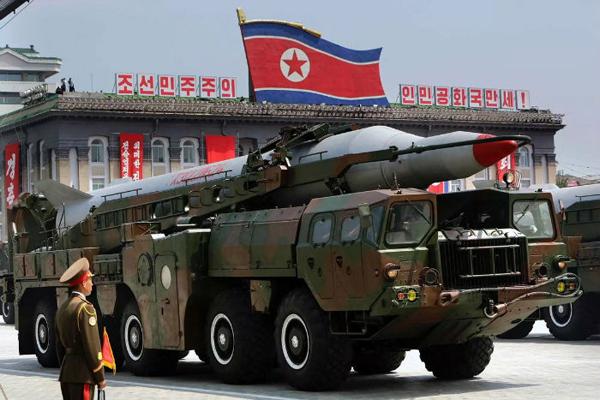 La Corea del nord testa un nuovo missile