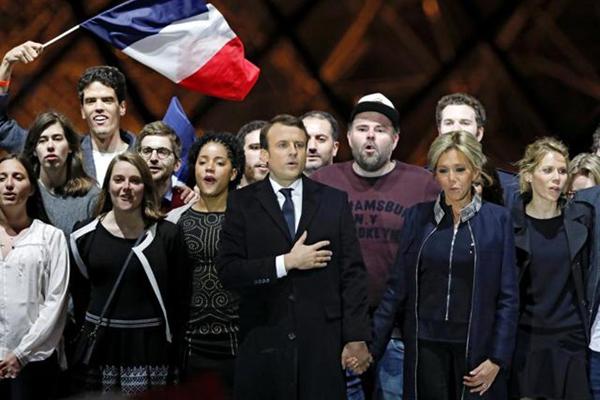 Macron trionfa su Le Pen con il 66%