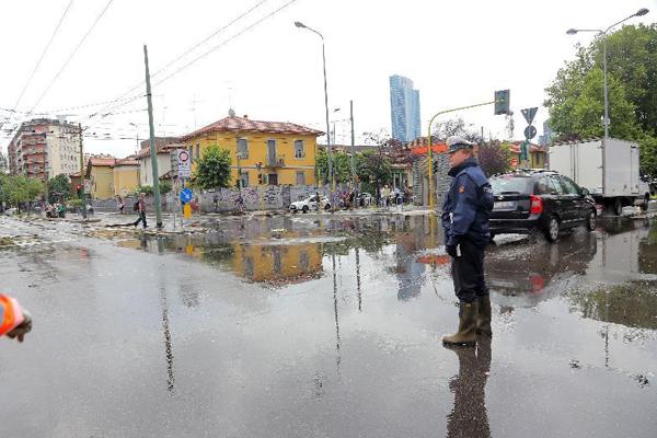 Maltempo: ancora disagi nel Milanese