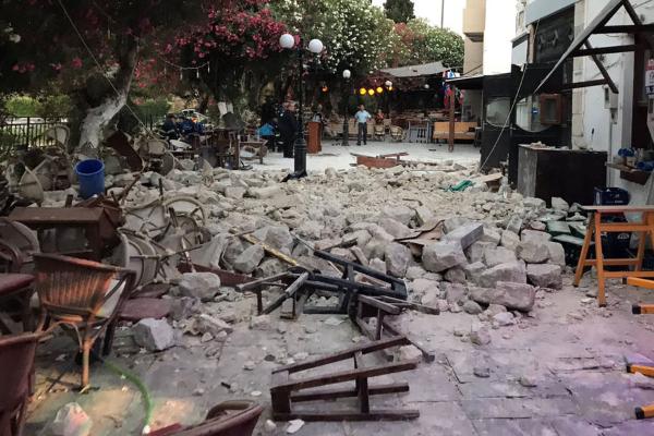Terremoto nell'Egeo, morti due turisti