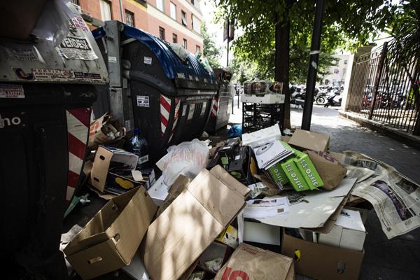 Orrore a Roma: resti umani in cassonetti