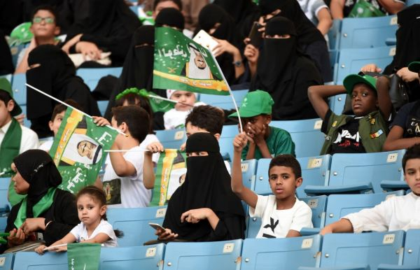 Arabia Saudita, anche le donne allo stadio