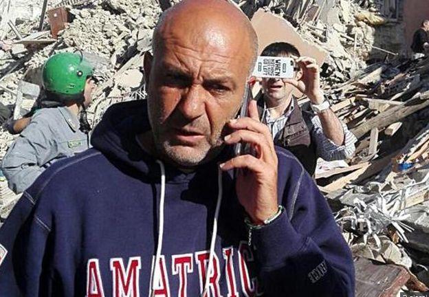 Pirozzi, sindaco Amatrice, alle regionali per il Lazio