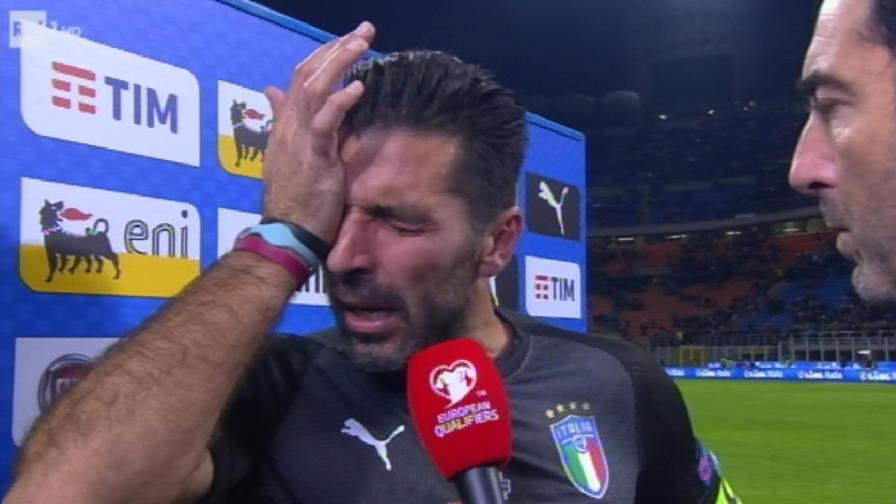 Calcio: Italia fuori dai Mondiali Russia 2018