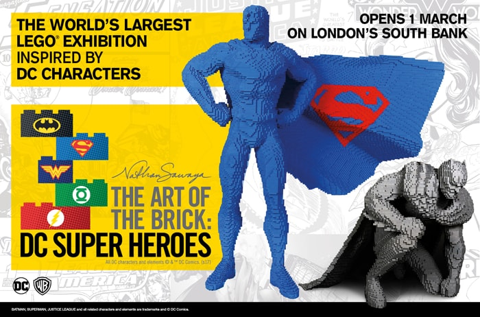 Super Heroes in mostra a Roma