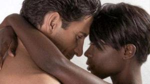 uomo bianco e donna nera