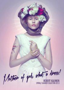 pubblicità religiosa per abbigliamento