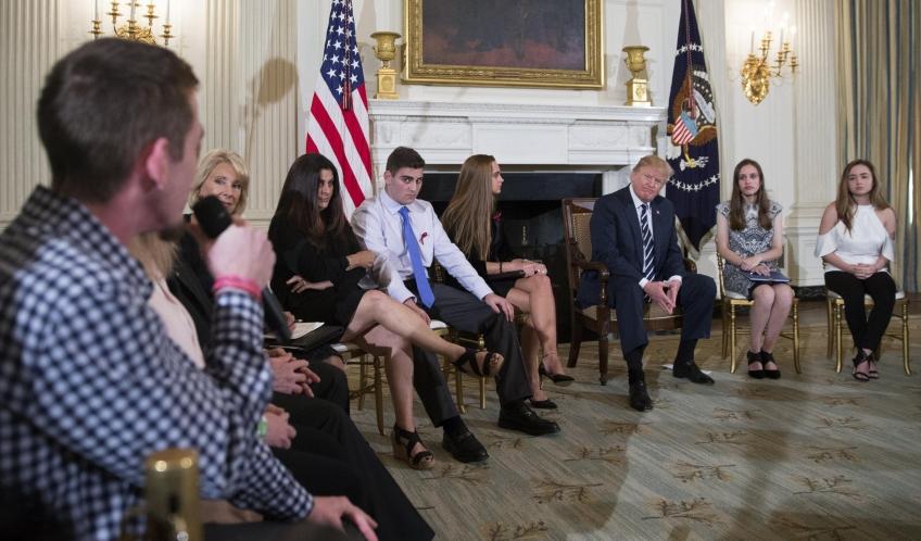 Quei giovani che hanno costretto Trump all'ascolto
