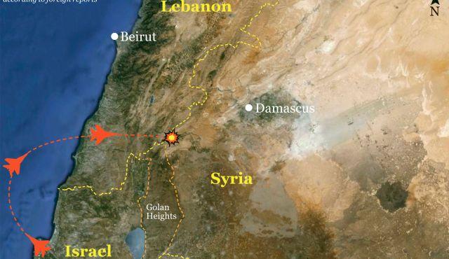 """La nuova """"linea rossa in Siria"""" secondo Israele"""
