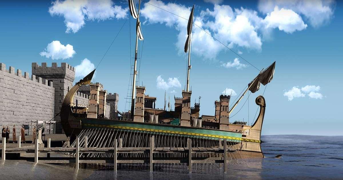 Archimede torna a Siracusa