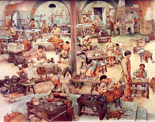 arti e mestieri antica roma