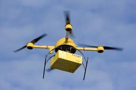 drone consegna pacco